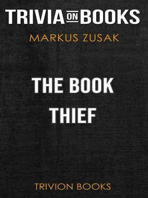 cover image of The Book Thief by Markus Zusak (Trivia-On-Books)